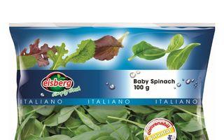 Baby Spinach cu fructe de padure