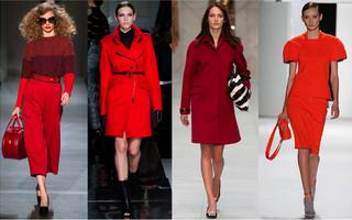 Modă: Nuanţele aprinse de roşu ne incendiază garderoba. Ai să le porţi?