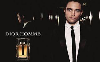 Robert Pattison este imaginea Dior Homme