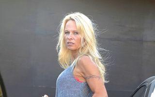 Pamela Anderson, într-o ipostază mai puţin obişnuită
