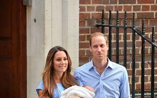 Prinţul George al Marii Britanii va fi botezat în octombrie