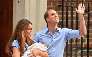 Botezul prinţului George, un eveniment intim