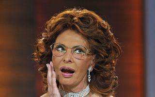 Divă adevărată: Sophia Loren, elegantă şi la 79 de ani