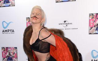 Lady Gaga a fumat marijuana ca să scape de dureri
