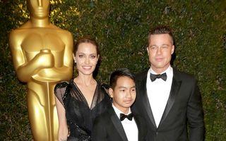 Angelina Jolie, supersexy la premiile Oscar pentru acţiuni umanitare