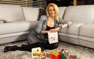 Diana Dumitrescu lansează cutiile D'Box de Crăciun la târgul Cloud No. 9