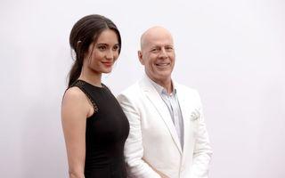 Bruce Willis va fi din nou tată