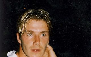 Cum l-am fotografiat pe David Beckham acum 15 ani