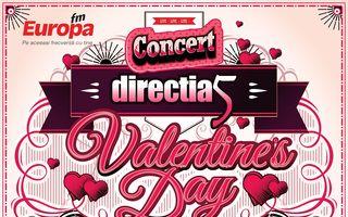 De Valentine's Day, directia 5 celebreaza dragostea, alaturi de tine