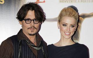 Iubita lui Johnny Depp are inel de logodnă
