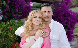 Alina Sorescu, imagine emoţionantă cu bebeluşul ei
