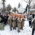 Adrian Iovan, înmormântat cu onoruri militare