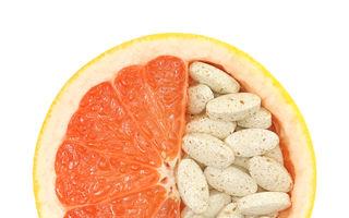 Sănătatea ta: De ce nu e bine să combini grepfrutul cu unele medicamente