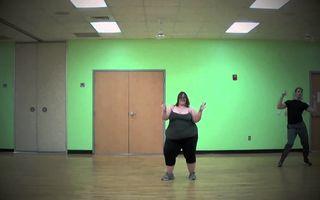 VIDEO: Oricine poate dansa, indiferent de greutate