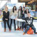 Vedetele TVR au patinat pentru a celebra Jocurior Olimpice de Iarnă Soci 2014