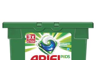 Noul Ariel 3in1 PODS revoluționează curățarea și îngrijirea țesăturilor