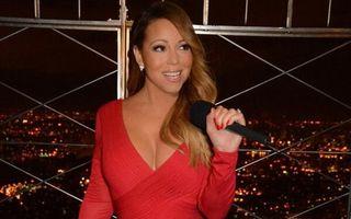 Diva de pe acoperișul Americii: Mariah Carey s-a pozat pe Empire State Building