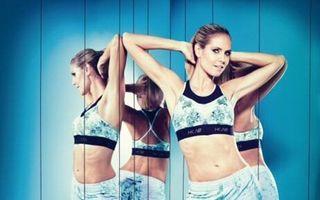 Așa arată un supermodel: Heidi Klum, la 40 de ani mai în formă decât la 20!