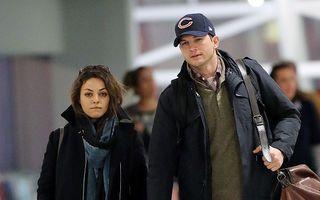 Ashton Kutcher și Mila Kunis s-au logodit
