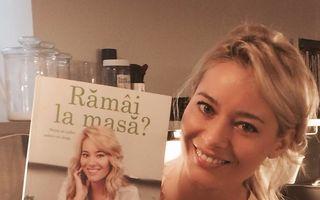 Laura Cosoi a lansat o carte de bucate