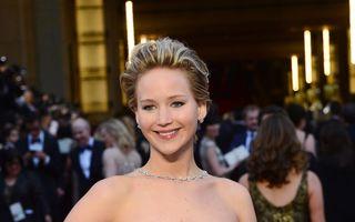 Jennifer Lawrence şi DiCaprio, cei mai frumoşi actori de la Oscar