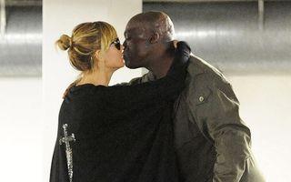 Au făcut pace: Heidi Klum și Seal s-au sărutat ca doi îndrăgostiți