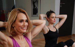Andreea Esca, dependentă de Pilates