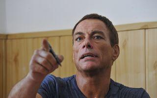 Jean Claude Van Damme filmează la Bâlea Lac