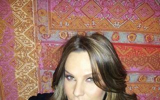 Anna Lesko, sexy în luna a noua de sarcină