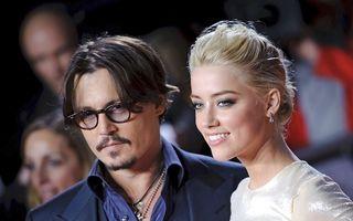 Johnny Depp se însoară cu Amber Heard