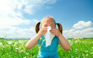 Alergiile de primăvară la copii. Cum le tratezi şi cum le depistezi?