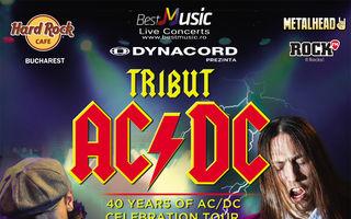 """40 de ani de AC/DC cu """"THE ROCK"""" la Hard Rock Cafe!"""