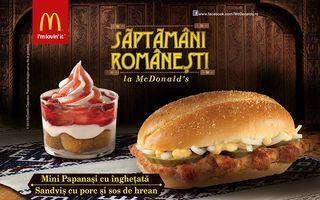 Săptămâni Românești cu chifteluțe, cașcaval pane și mini papanași cu înghețată
