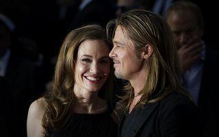 """Angelina Jolie: """"Mă mărit cu Brad Pitt!"""""""