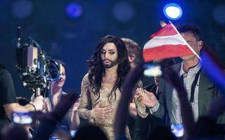 """Eurovision 2014: Kitsch, pop şi politică, de la conflictul dintre Rusia şi Ucraina la """"doamna cu barbă"""""""