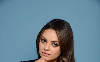 Mila Kunis confirmă că e însărcinată