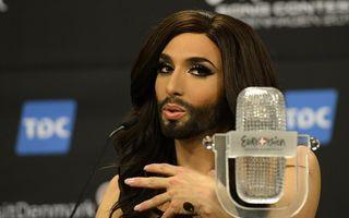 """Eurovision 2014: """"Regina"""" Conchita Wurst, de la critici dure la admiraţie internaţională"""