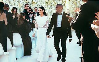 Hollywood: 5 cupluri care s-au căsătorit în locaţii exotice. Kim Kardashian a ales Florenţa
