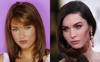Transformarea radicală a lui Megan Fox. De la o faţă banală, la o frumuseţe sclipitoare