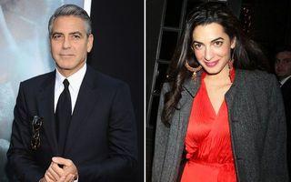 Deşteaptă, stilată, greu de cucerit: Femeia după care e topit George Clooney