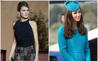 Dosar Eva. Prințesa Letizia sau Kate Middleton: Cine va fi regina stilului?