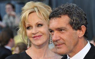 Melanie Griffith și Antonio Banderas divorțează, după 18 ani de căsnicie