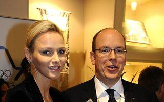 Prinţesa Charlene de Monaco e însărcinată cu gemeni