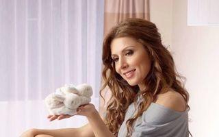 Carmen Brumă, siluetă perfectă la o lună după ce a născut