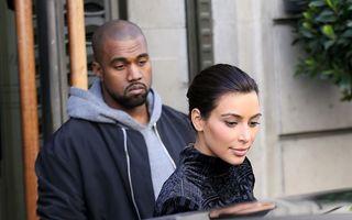 """Kim Kardashian şi Kanye West, în luna de miere """"oficială"""""""
