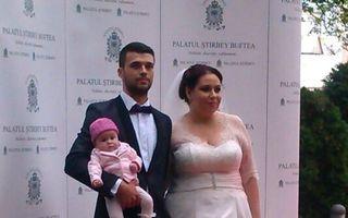 Oana Roman și-a împlinit visul: nuntă ca în povești la Palatul Ştirbey