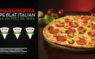 Pizza Hut Delivery reintroduce blatul Italian în oferta sa, disponibil la un preț de vară