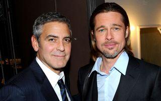 Brad Pitt va fi cavaler de onoare la nunta lui George Clooney