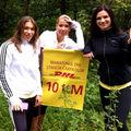 Ellie White si Ileana Badiu au alergat 12 kilometri la Maratonul DHL