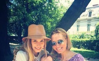 """Dana Rogoz, la plimbare cu fiul ei şi cu Andreea Esca: """"A trecut timpul"""""""